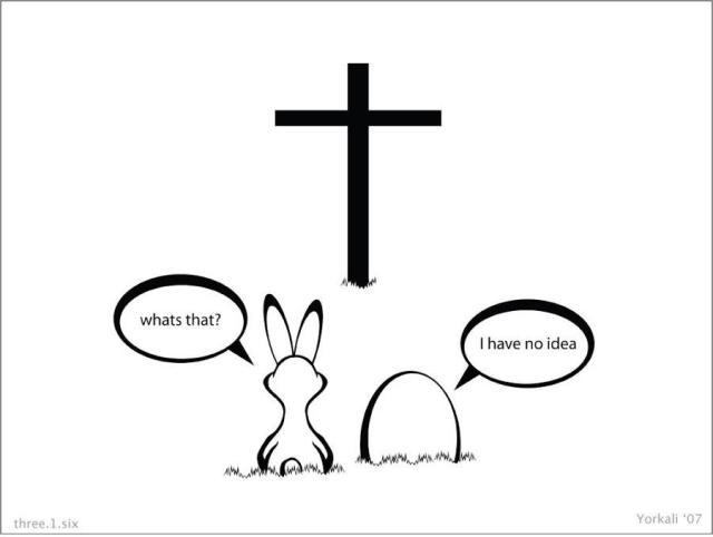Paganism, meet Jesus Christ